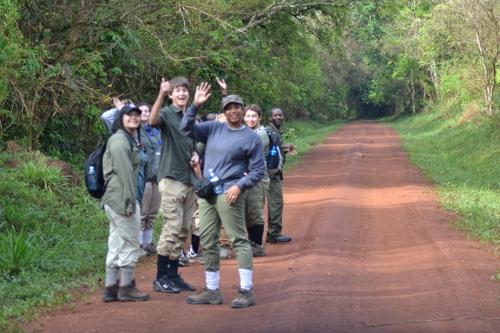 School trips to Uganda
