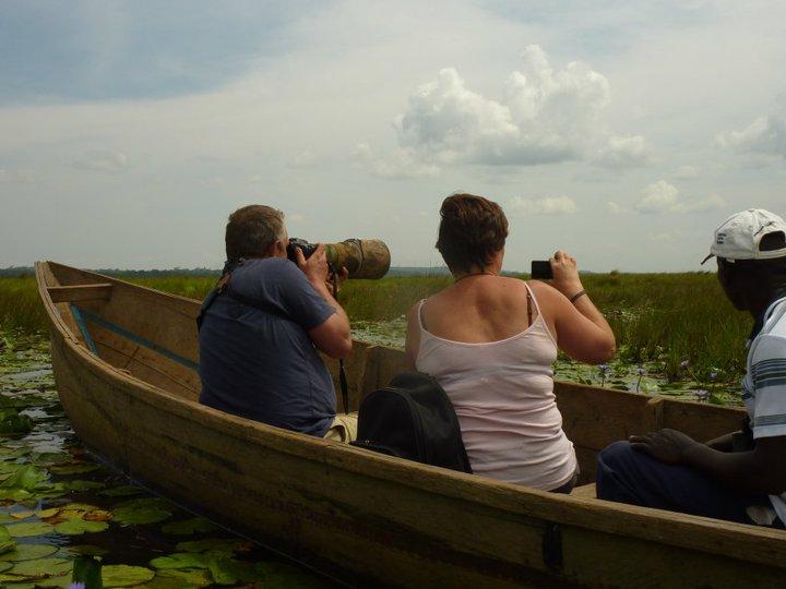 Finding the shoebill stork