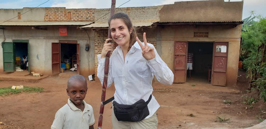 Village visit Uganda