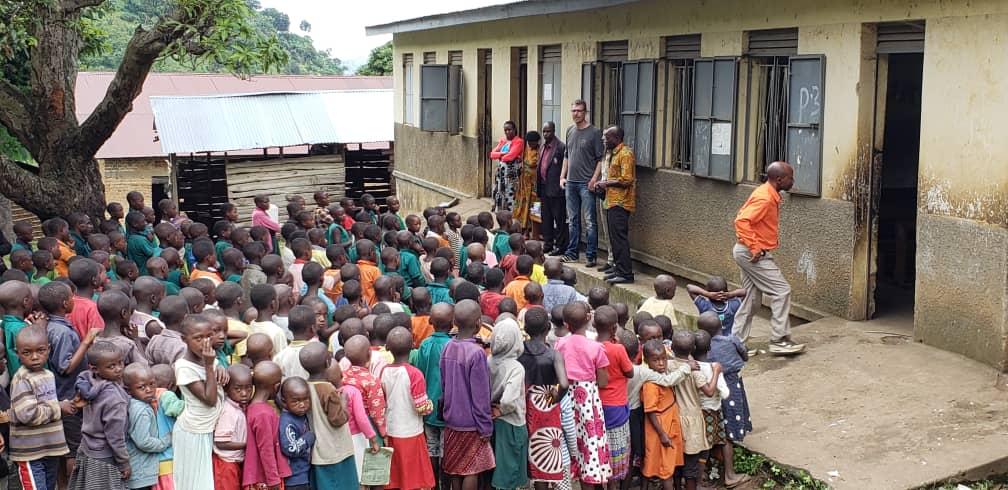 School viist Rwenzori