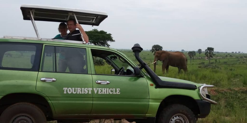 game-drive Murchison Falls